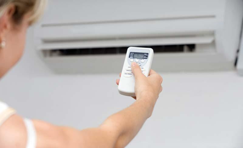 Управление на климатика със смартфон